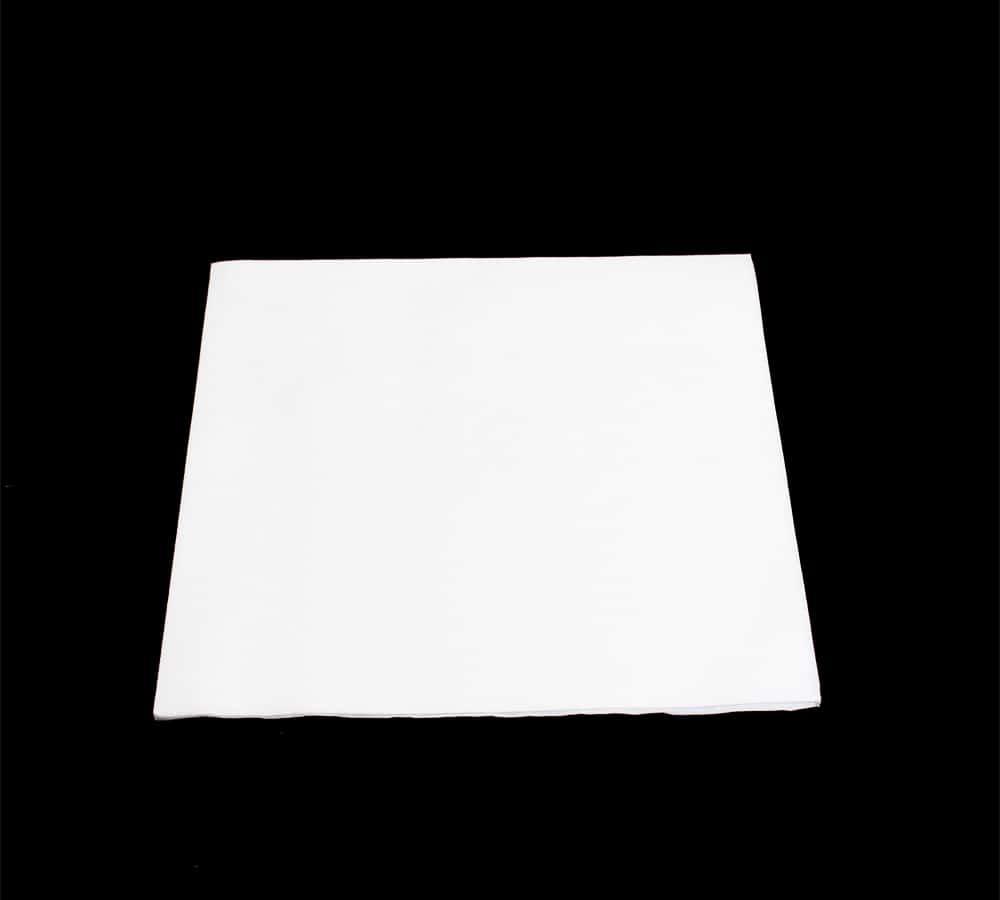 Hvid kraftig serviet