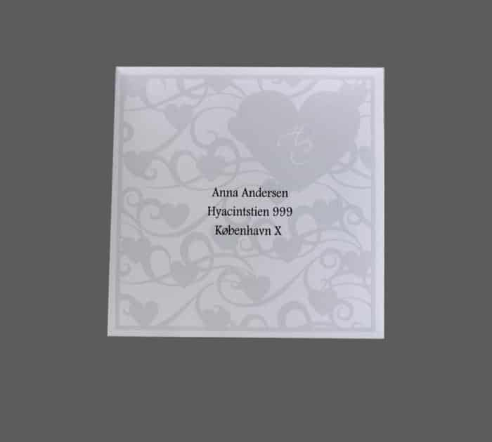 konvolut designet til cupido
