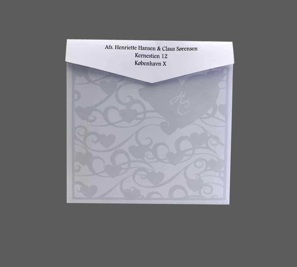 kuvert designet til cupido