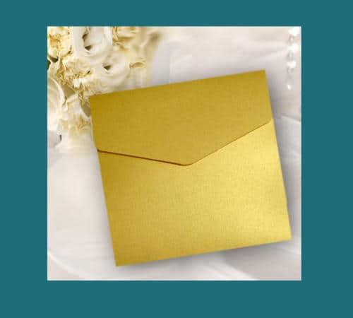 lommekort til guldbryllupsindbydelser