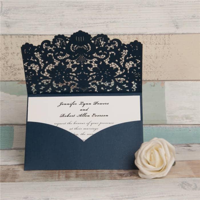 Lommekort flæse blå