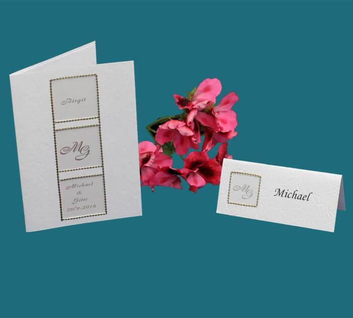 menukort og bordkort inddelt i felter