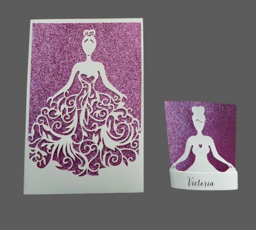 Konfirmationskort til en prinsesse