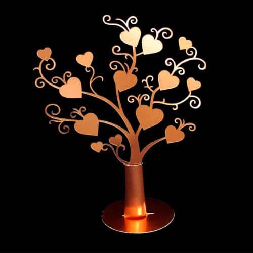 Hjertetræ med fod
