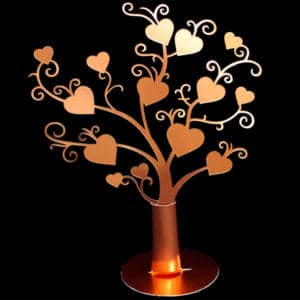 Løsdel - hjertetræ