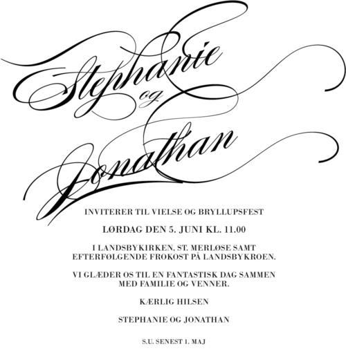 Kalligrafiske navne