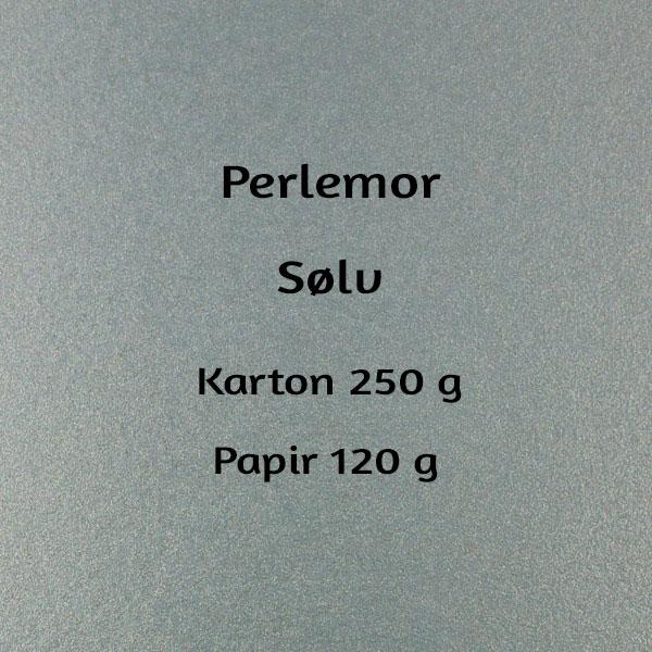 karton til velkomstsang, perlemor sølv
