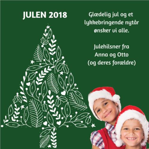 E-julekort med dit foto
