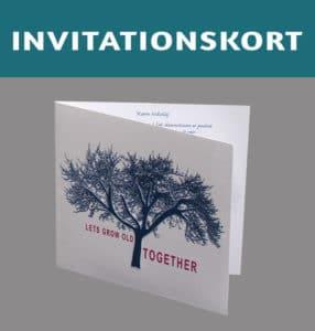 Bryllupsinvitation Together