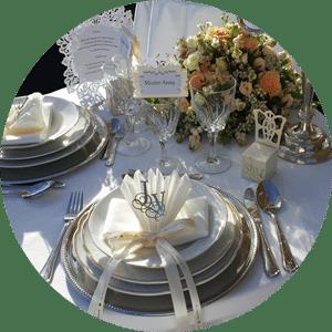 Festivitas festlig borddækning