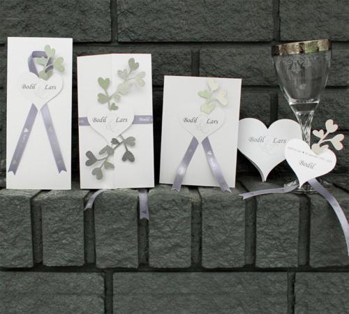 sølvbryllupskort Amor