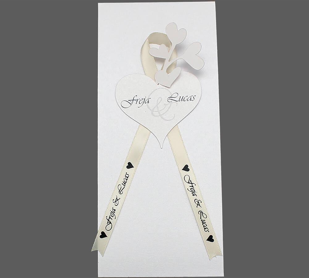 kirkeprogram til bryllup Amor
