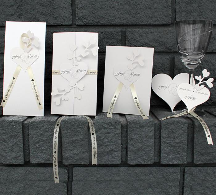 bryllupskort Amor
