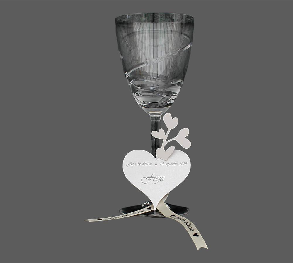bordkort til bryllup Amor