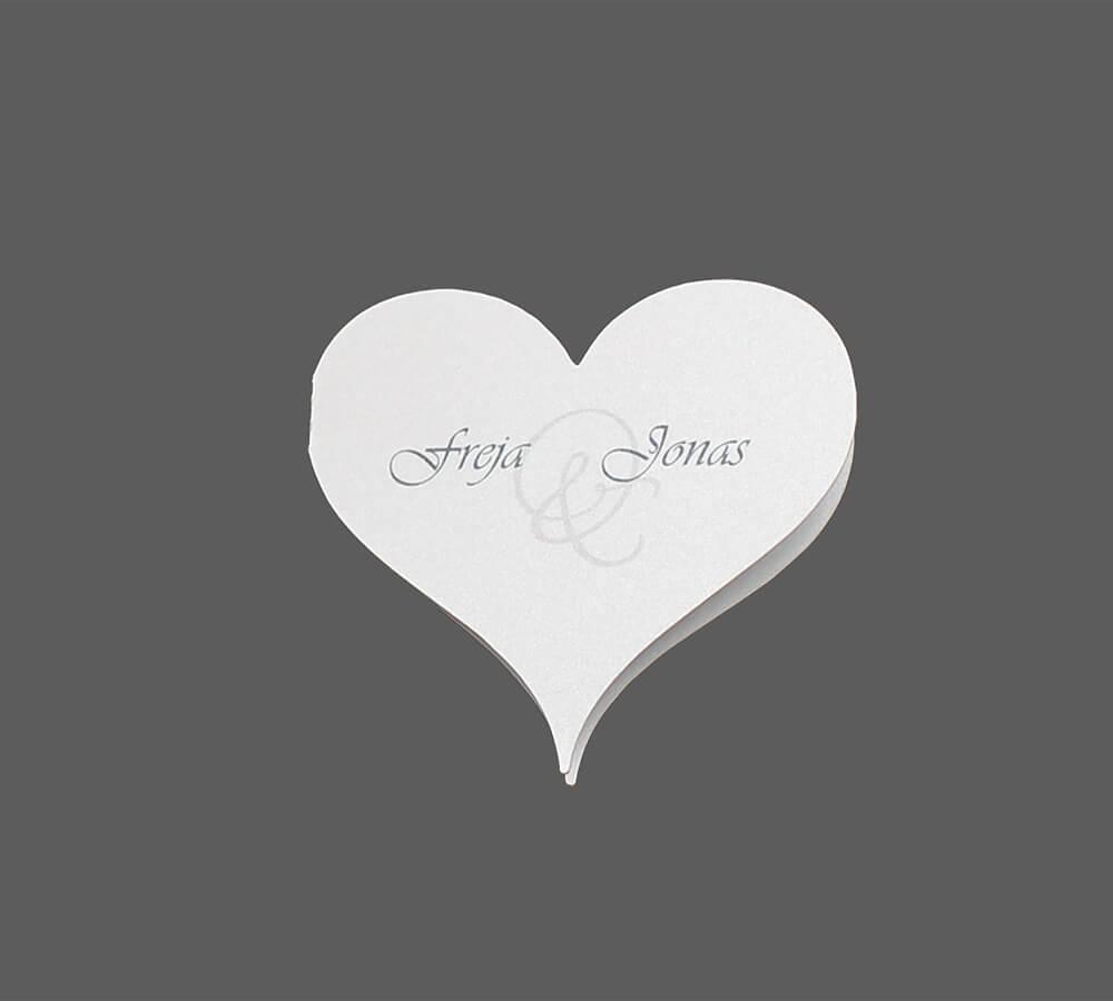Save-the-date til bryllup Amor