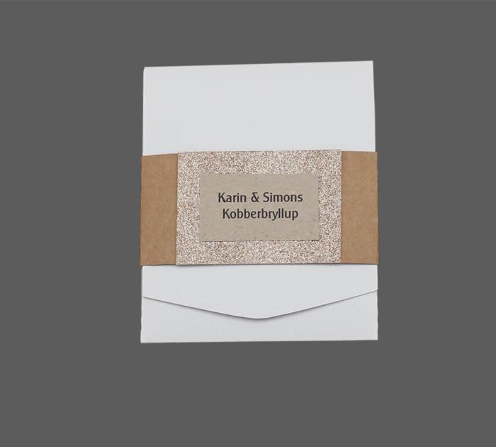 Lommekort til kobberbryllup