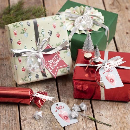 personlig julegaveindpakning