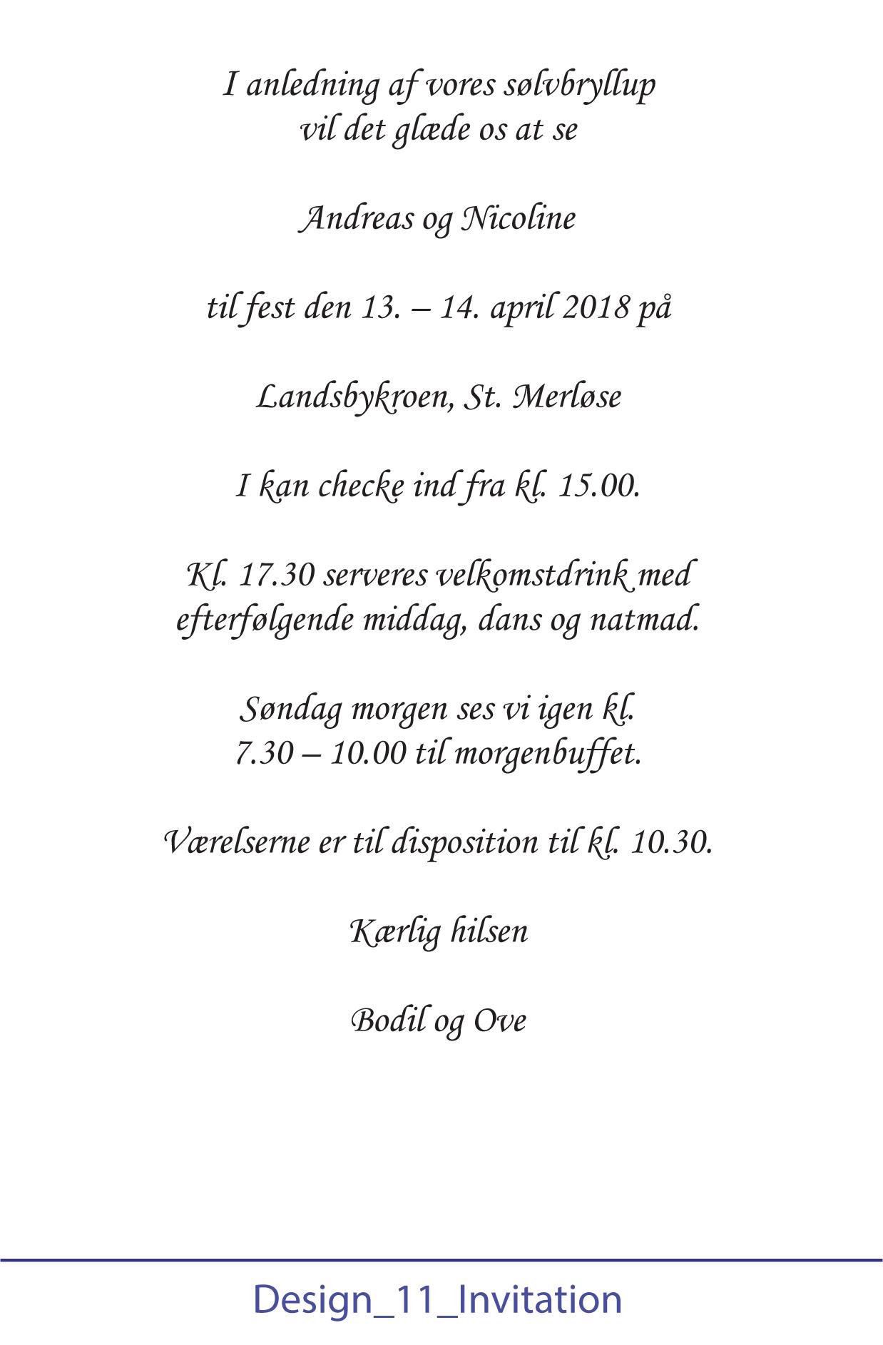 Opsætning af tekst - Design 11